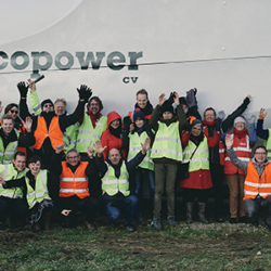 The cooperative Ecopower chose for SynaptiQ to monitor its assets